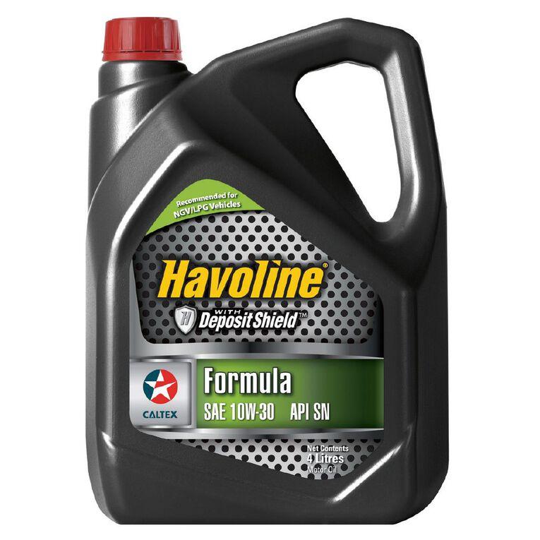 Caltex Havoline Formula (SN) 10W-30 Engine Oil 4L, , hi-res