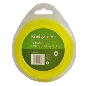 Kiwi Garden Trimmer Line Yellow 1.6mm/15m