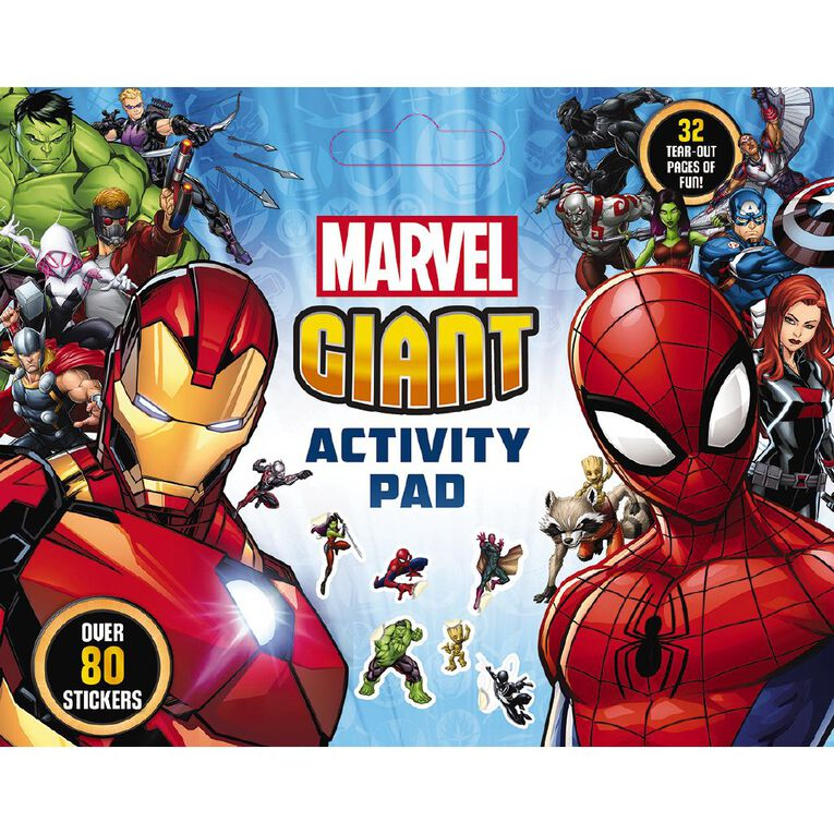 Marvel: Giant Activity Pad, , hi-res