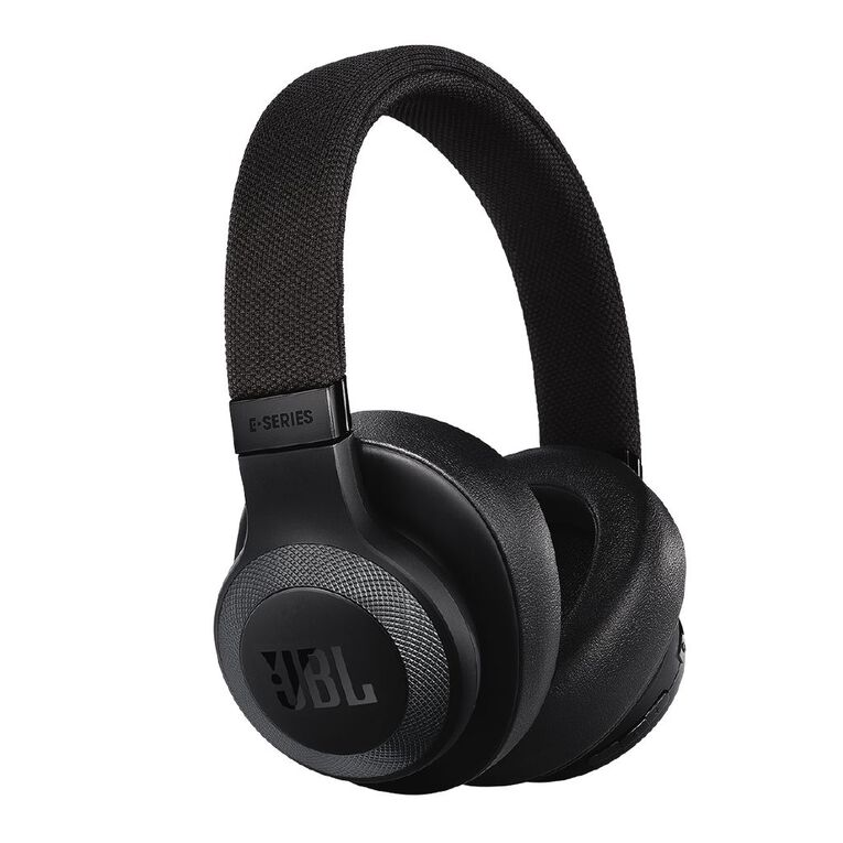 JBL E65 Bluetooth Noise Cancelling Headphone Black, , hi-res image number null