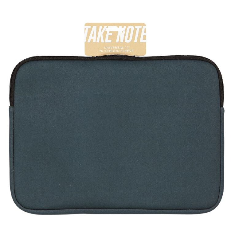 Positivity 11 inch Universal Notebook Sleeve Green, , hi-res image number null