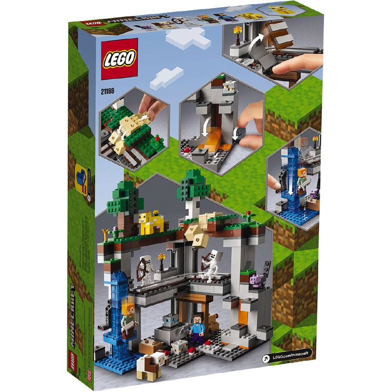 LEGO Minecraft The First Adventure 21169, , hi-res