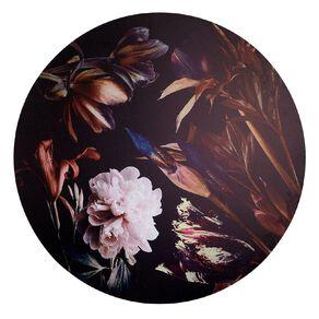 Living & Co Botanical Round Canvas 80 x 80 x 1.8cm