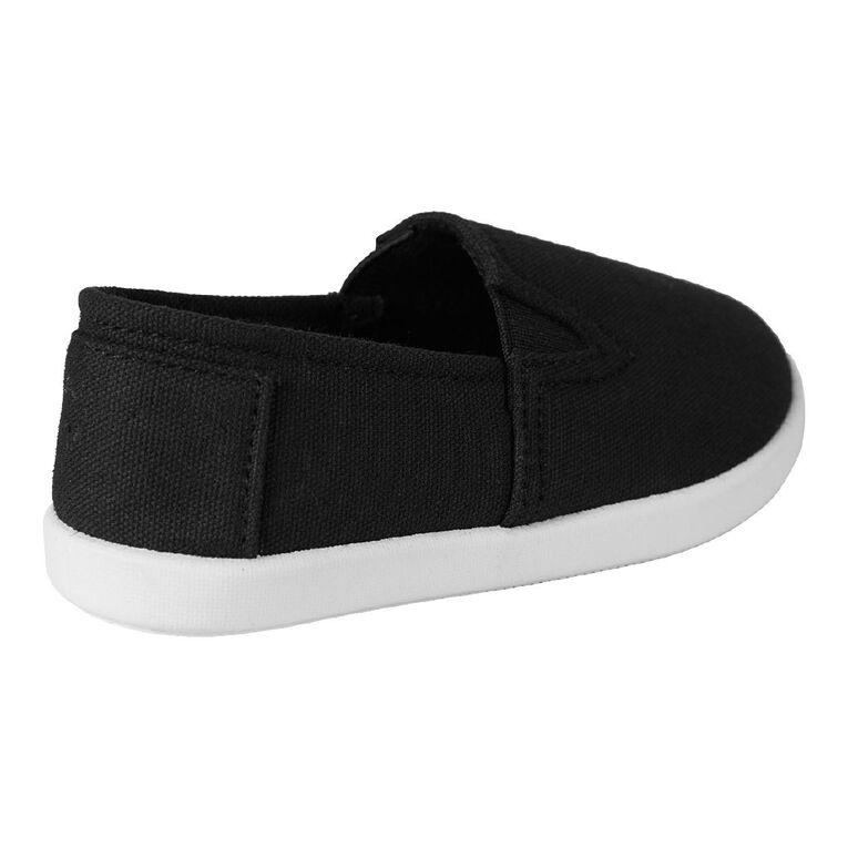 Young Original Kids' Play Canvas Shoes, Black, hi-res