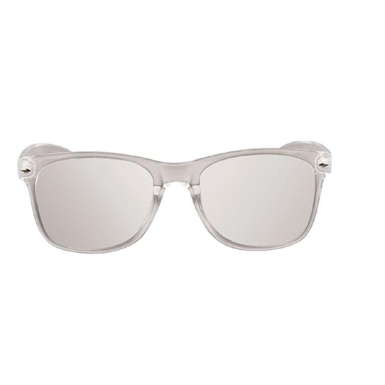 Unisex Mirror Sunglasses, Clear, hi-res