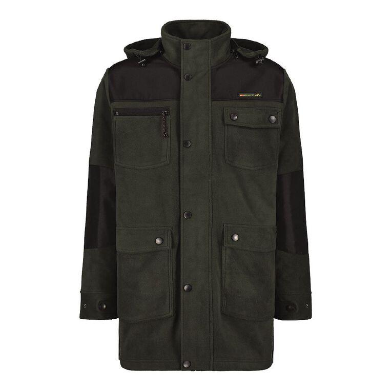 Back Country Bonded Fleece Jacket, Green, hi-res