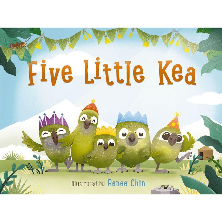 Five Little Kea by Renee Chin, , hi-res