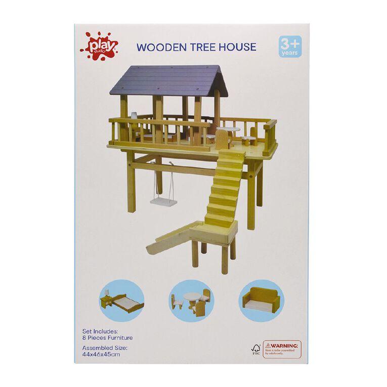 Play Studio Wooden Tree House, , hi-res