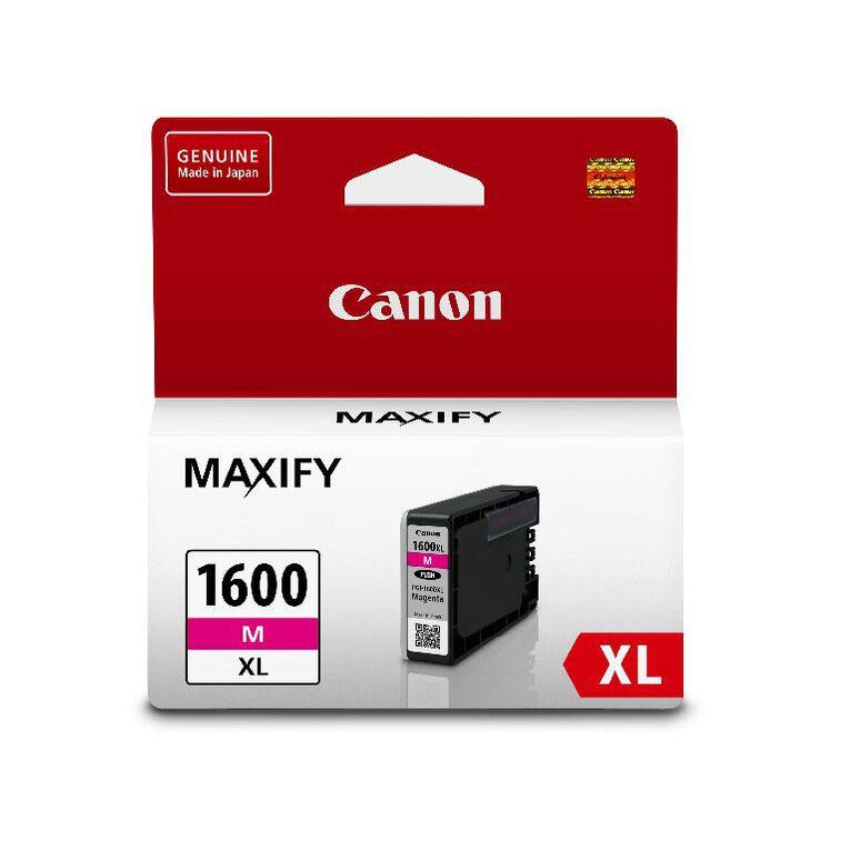 Canon Ink PGI1600XL Magenta (900 Pages), , hi-res