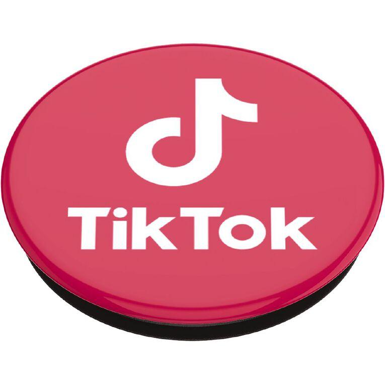 Popsockets Popgrip Standard Licenced Tiktok Pink, , hi-res