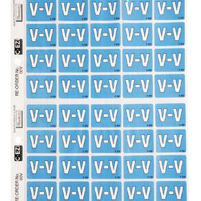 Filecorp Coloured Labels V Blue