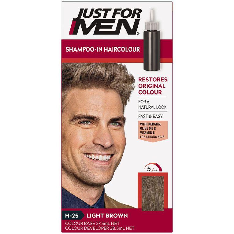 Just For Men Hair Colour Light Brown, , hi-res