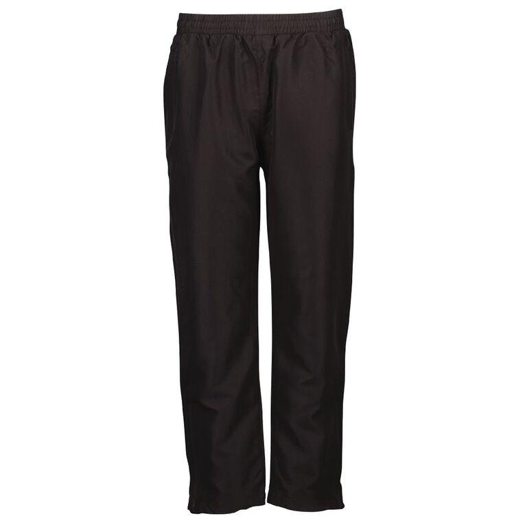 Schooltex Kids' Spice Track Pants, Black, hi-res