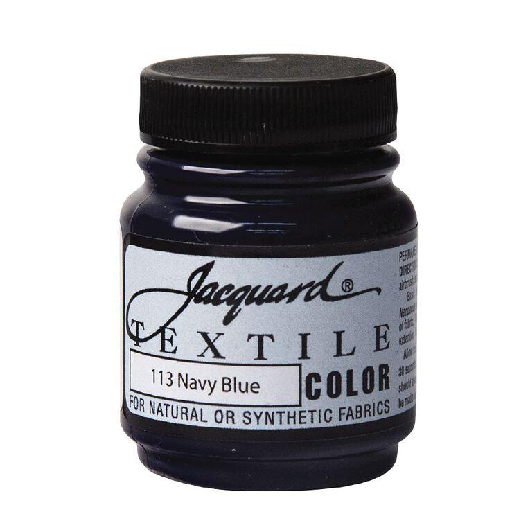 Jacquard Textile Colours 66.54ml Navy, , hi-res