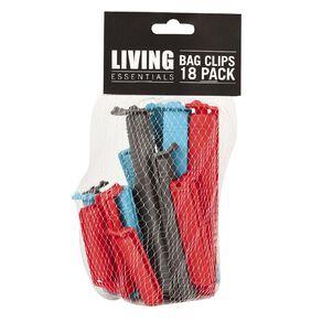 Living Essentials Bag Clips 18 Pack
