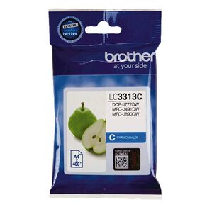 Brother Ink LC3313C Cyan (400 Pages)