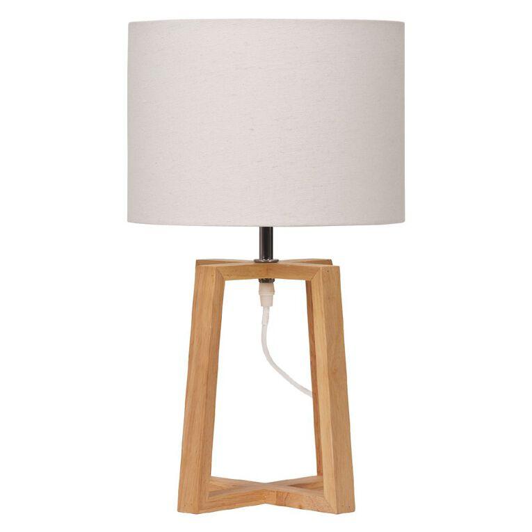 Living & Co Magnus Lamp White, , hi-res