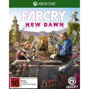 XboxOne Far Cry New Dawn
