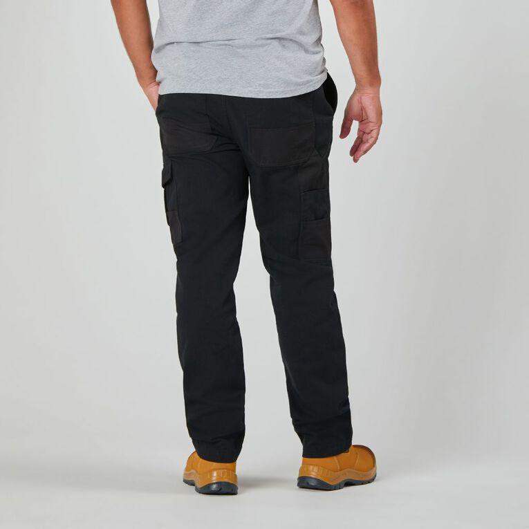 Rivet Men's Utility Pants, Black, hi-res