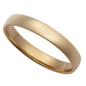 9ct Gold Half Round Ezi Fit Wedding Ring