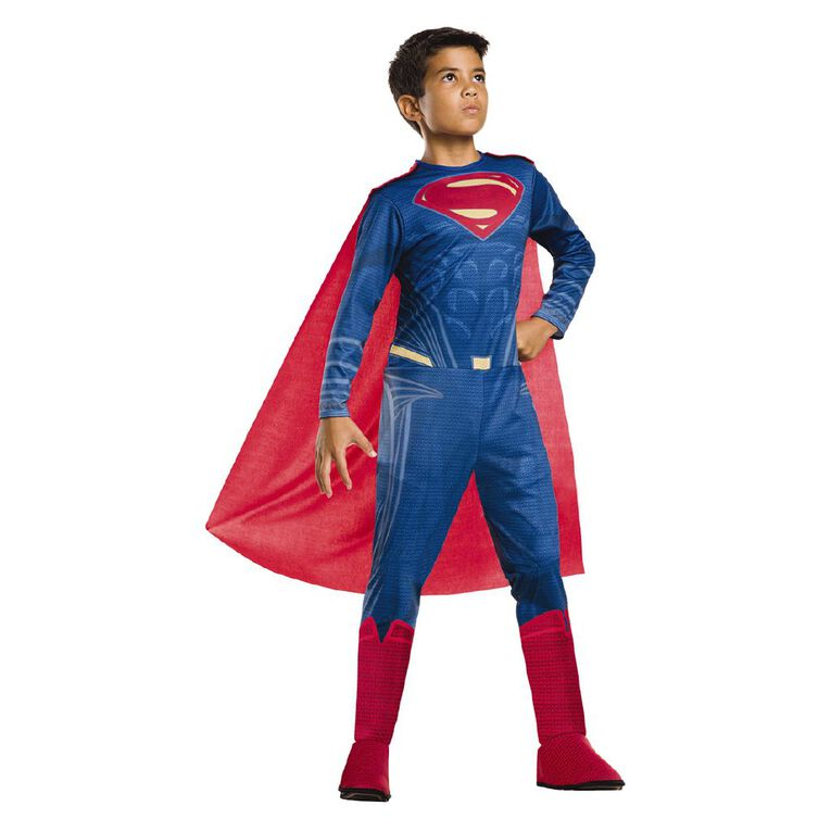 DC Superman Classic Costume 6-8, , hi-res