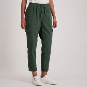 H&H Women's Cuffed Chino Pants