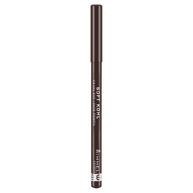 Rimmel Soft Kohl Pencil Sable Brown, , hi-res