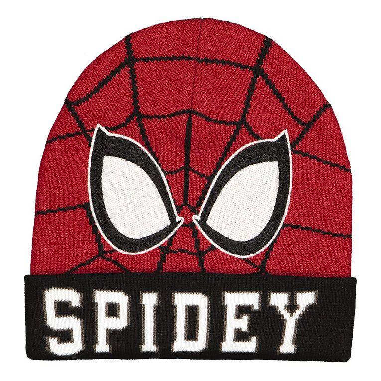 Spider-Man Kids' Beanie, Red, hi-res