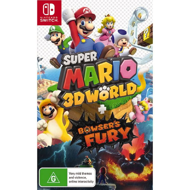 Nintendo Switch Super Mario 3D World + Bowser's Fury, , hi-res image number null