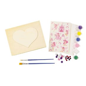 Kookie Paint Your Own Wooden Jewellery Box 23 Pieces