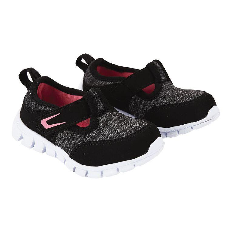 Active Intent T-bar Shoes, Black, hi-res