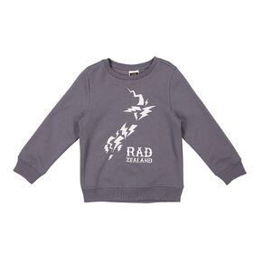 Young Original Print Crew Sweatshirt