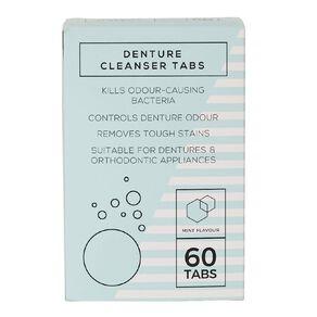 Denture Tablets 60 Pack