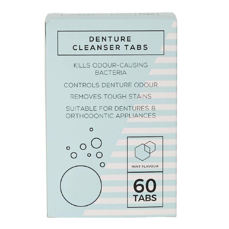 Denture Tablets 60 Pack, , hi-res