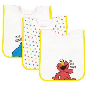 Sesame Street Baby Bibs 3 Pack