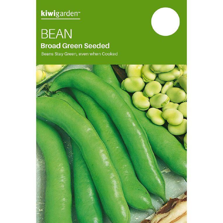 Kiwi Garden Broad Bean Green Seeded, , hi-res