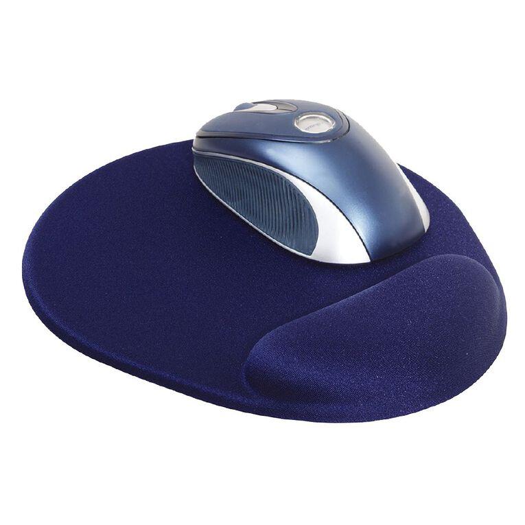Dac Mouse Pad Super Gel Mini Round Blue, , hi-res