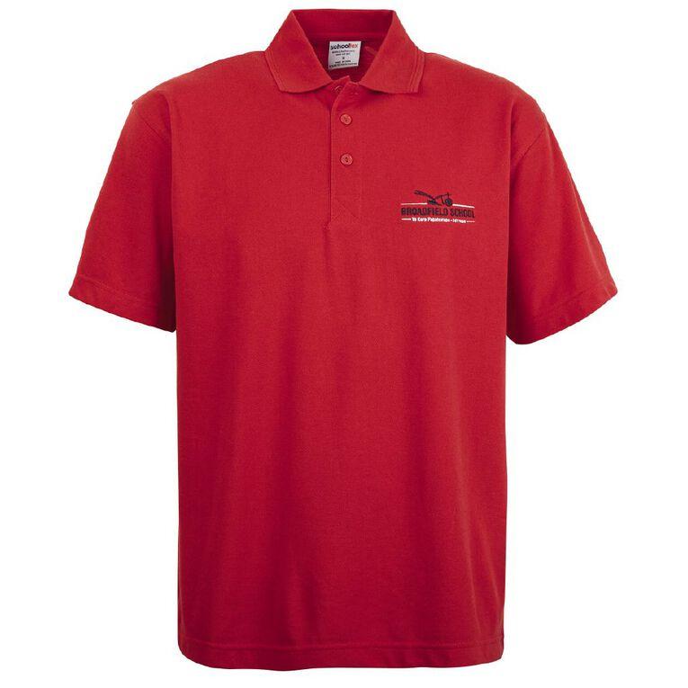 Schooltex Broadfield School Polo, Red, hi-res