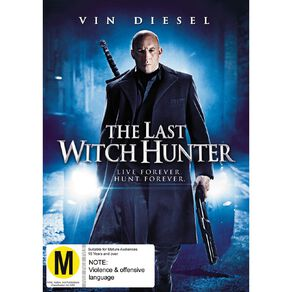 The Last Witch Hunter DVD 1Disc