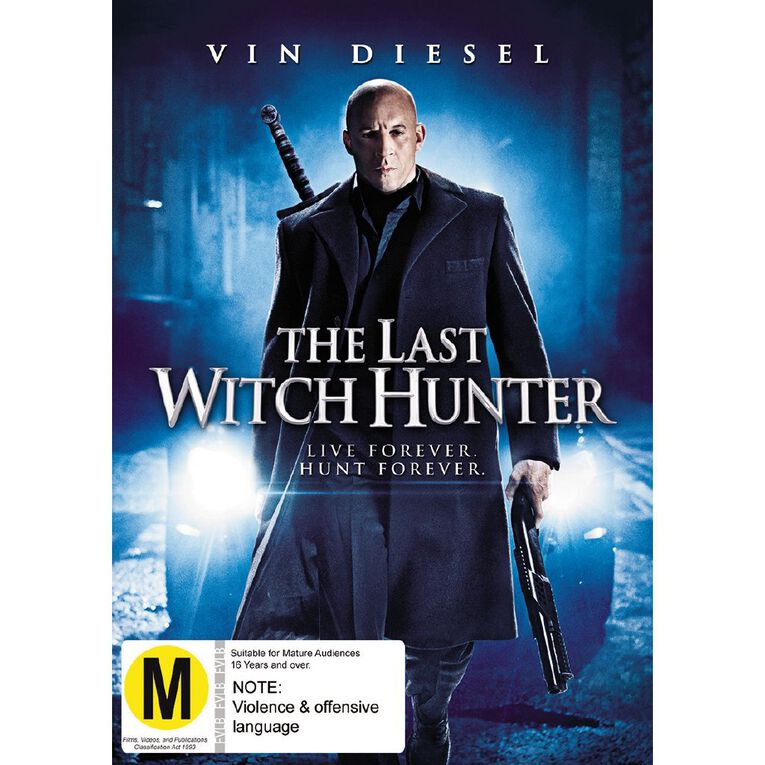 The Last Witch Hunter DVD 1Disc, , hi-res