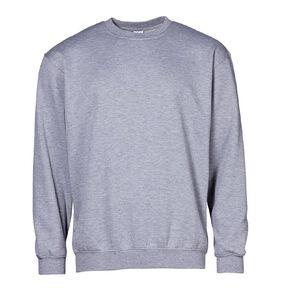 H&H Men's Plain Crew Sweatshirt