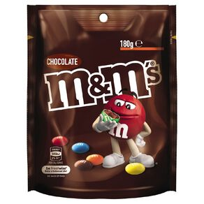 M&M's Milk Chocolate Bag 180g