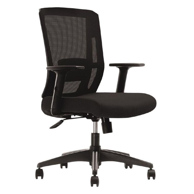 Workspace Infinity Chair Black, , hi-res