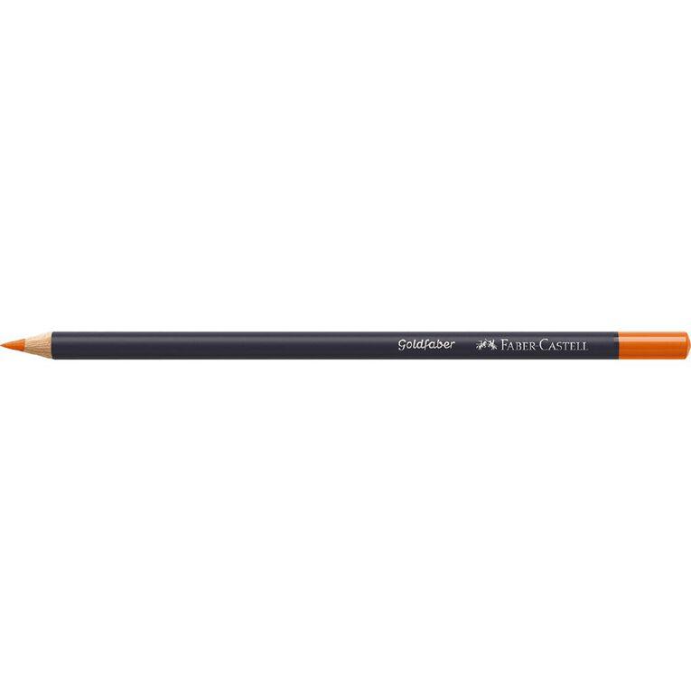 Faber-Castell Colour Pencil Goldfaber Col115 - Dark Cadium Orange, , hi-res