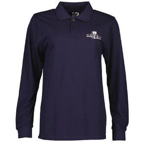 Schooltex Glenfield Long Sleeve Polo with Embroidery