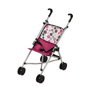 Hauck Doll Stroller Pink Dot