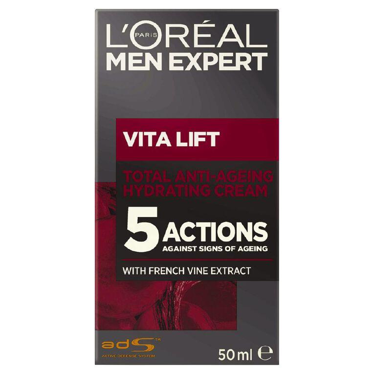 L'Oreal Paris Men Expert Vitalift 5 Moisturiser 50ml, , hi-res