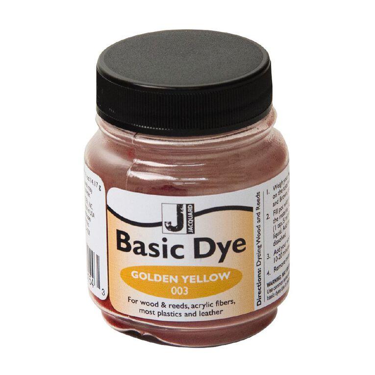 Jacquard Basic Dye 14.17g Golden Yellow, , hi-res