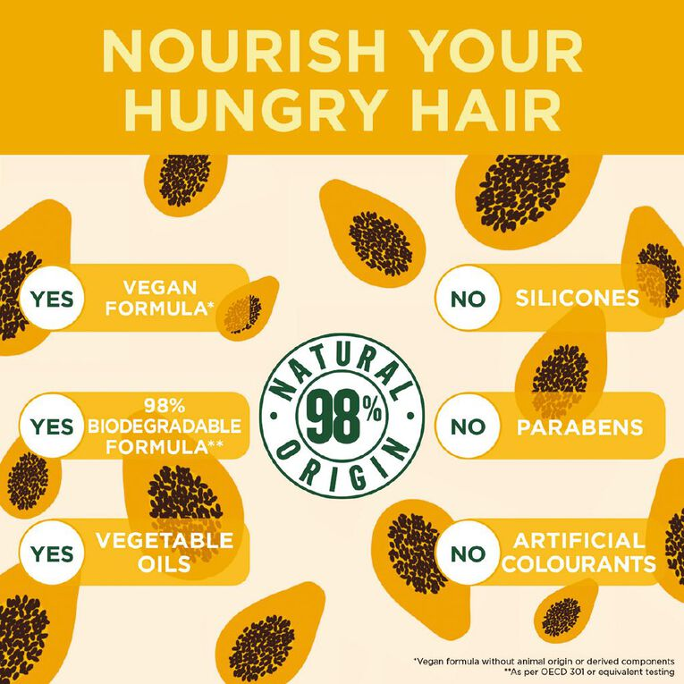 Garnier Fructis Hair Food Papaya 390ml, , hi-res
