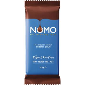 Kinnerton Nomo Delicously Creamy Choc 85g